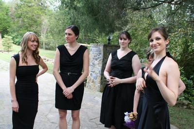 Bridesmaids, looking fine.